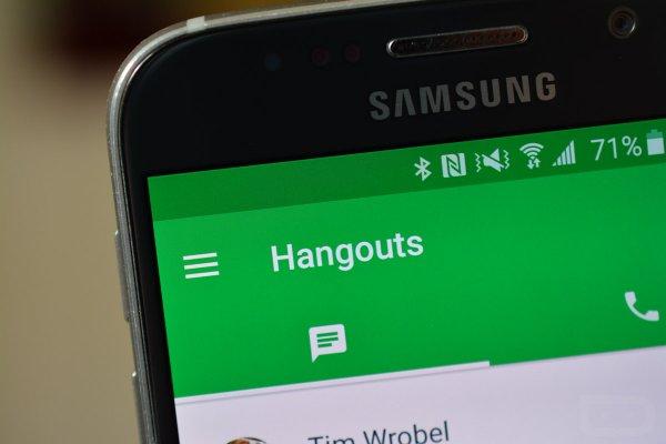 Google удалит функцию отправки SMS в приложении Hangouts
