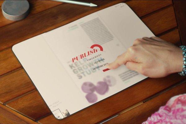 Microsoft получила очередной патент на гнущийся мини-ноутбук