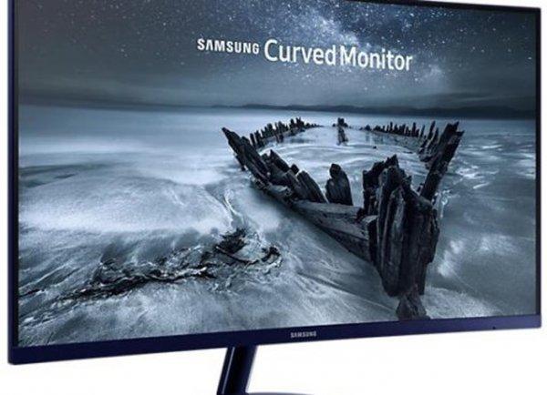Изогнутый монитор Samsung C27H580 скоро поступит в продажу
