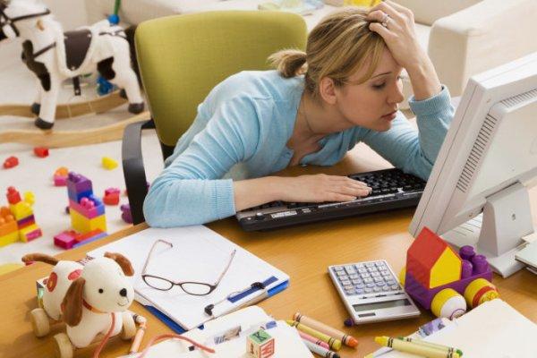 Ученые: Домашняя обстановка поможет снять усталость после рабочего дня
