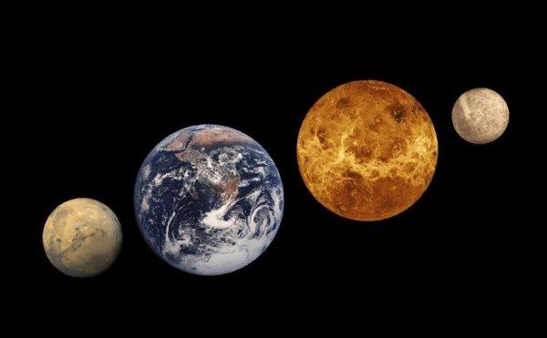 Жители Санкт Петербурга смогут увидеть Меркурий в ночном небе