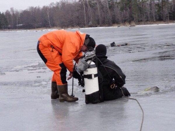 ищут пропавшего рыбака