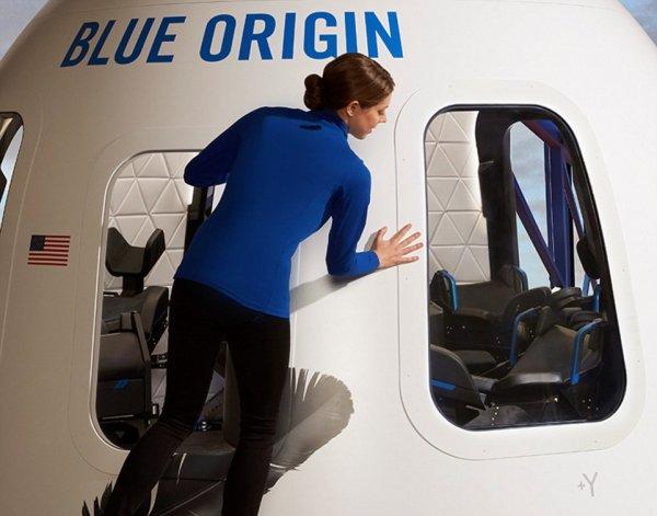 Blue Origin показала первые фото многоразовой ракеты для космического туризма