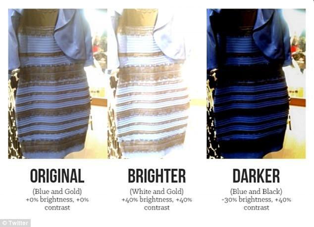 Голубо-золотое платье