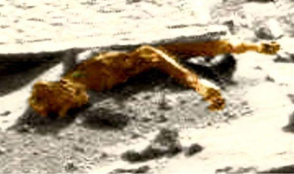 На Марсе нашли труп инопланетянина