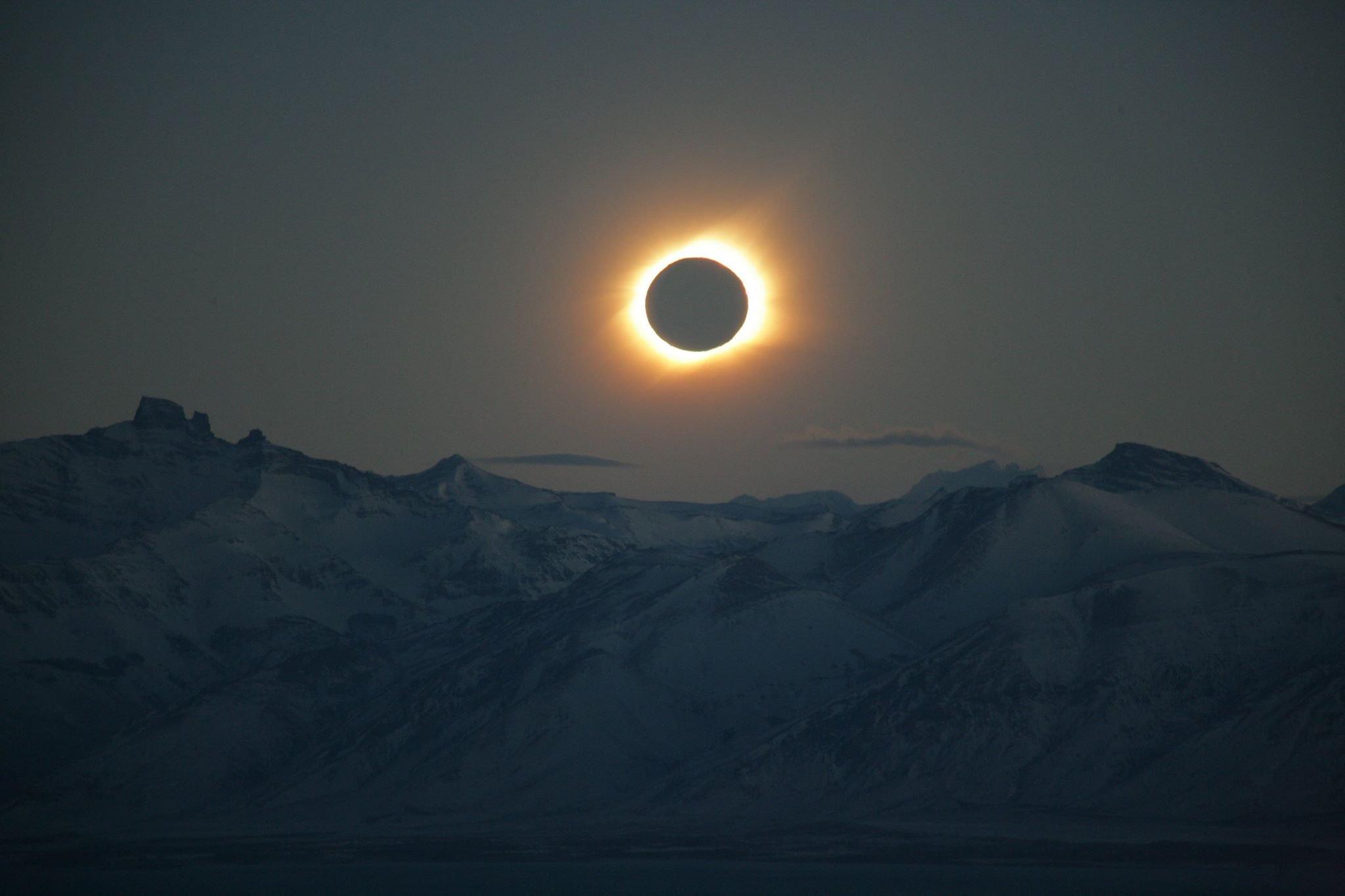 Затмение Солнца 10 июня произойдет с максимальной фазой