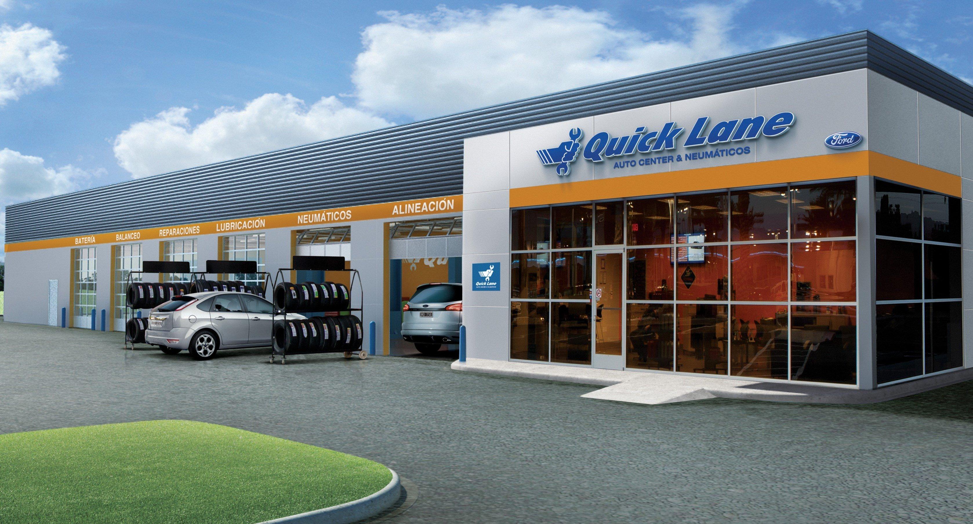 Форд  открыл в Российской Федерации  новые сервисные центры