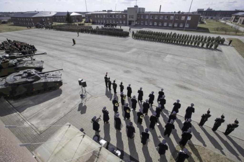 Международный батальон НАТО приступил кслужбе натерритории Эстонии