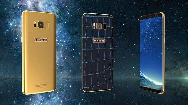 Финский бренд Legend выпустит позолоченный Самсунг  Galaxy S8