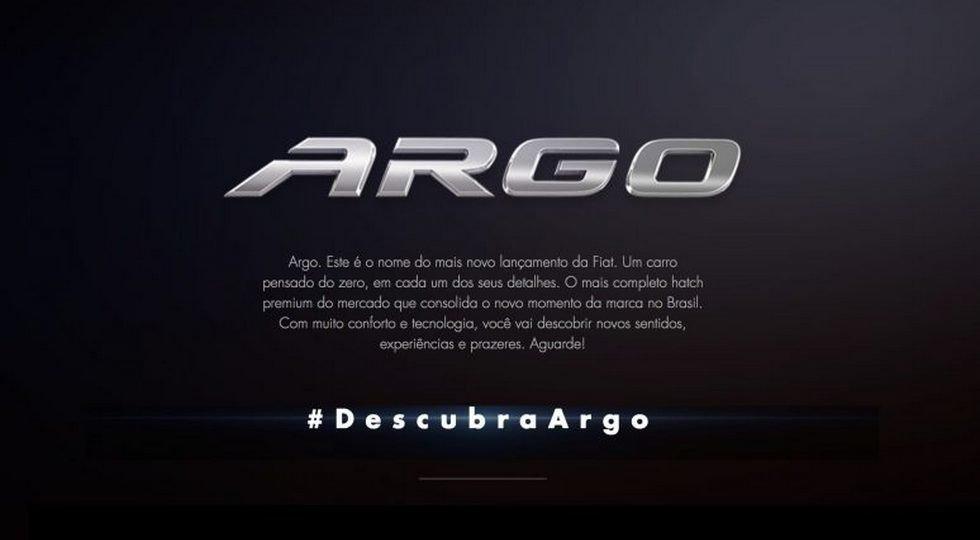 В Фиат анонсирована нова модель автомобиля Argo