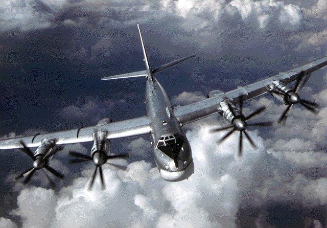 Русские бомбардировщики 4 ночи летают уберегов Аляски
