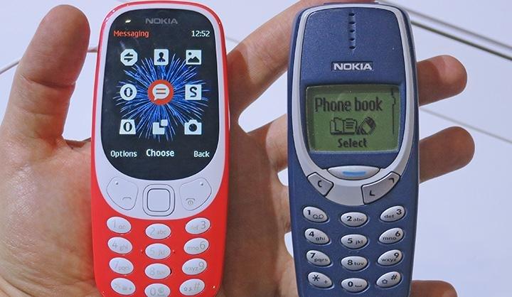 Объявлена дата появления обновленной Nokia 3310 в России
