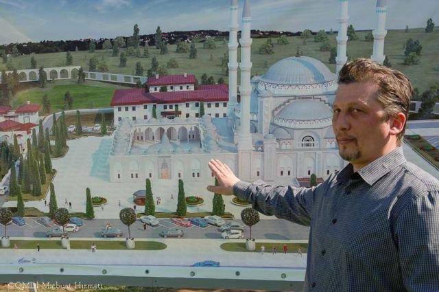 ВКрыму строят грандиозную мечеть