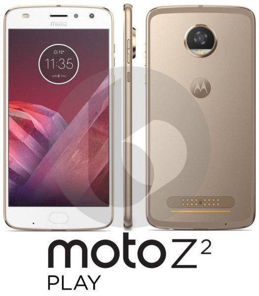 Вглобальной сети опубликовали первые фотографии нового Moto Z2 Play