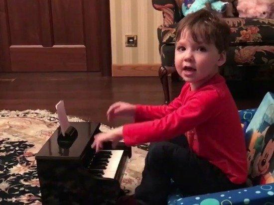 Сын Пугачевой иГалкина показал музыкальный талант