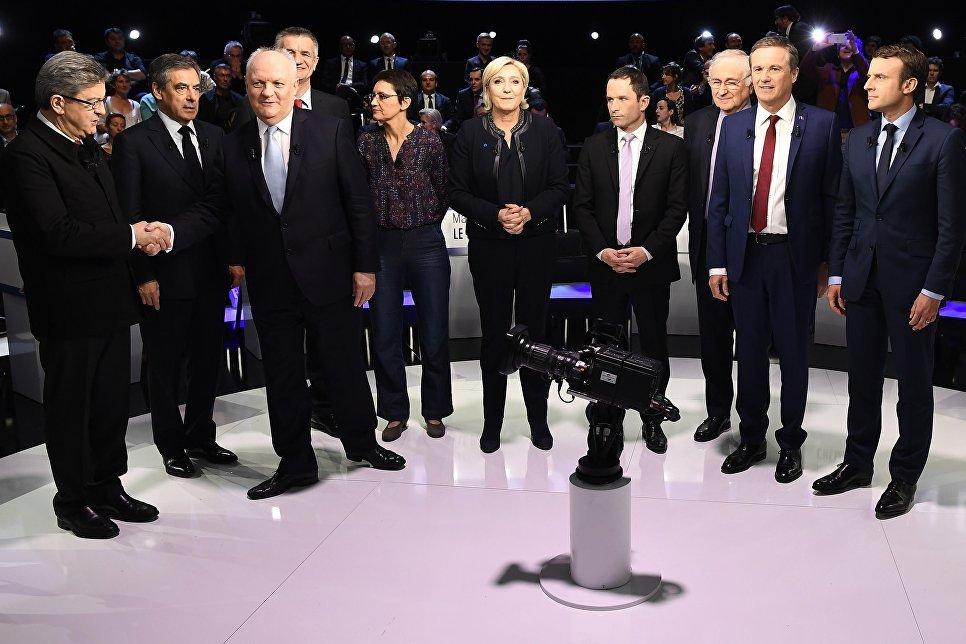 Взаморских территориях Франции начались выборы президента