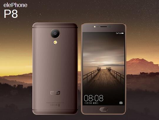 Elephone представила два новых телефона для приверженцев фотографии P8 иP8 Мини