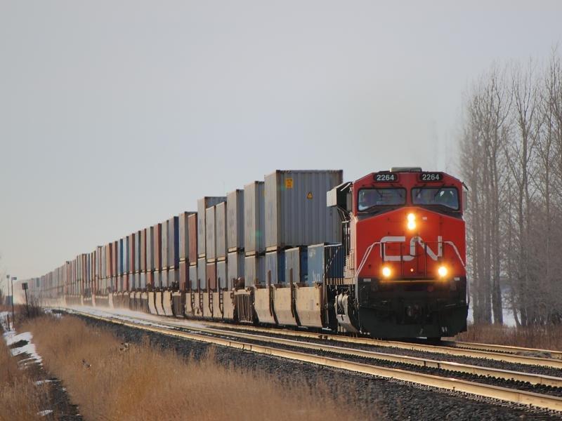 В КНР прибыл 1-ый поезд с русской продукцией