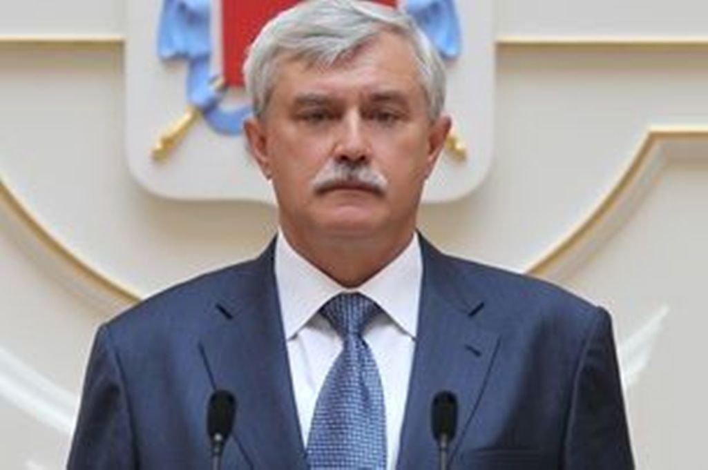 Георгий Полтавченко начал ежегодным отчет перед ЗакСом