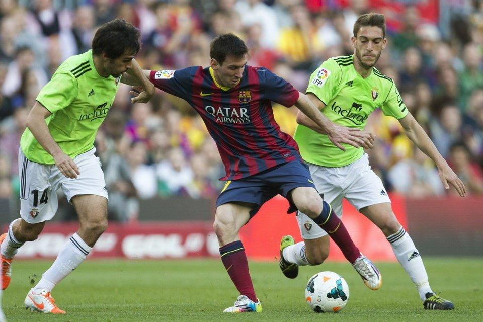 «Барселона» разгромила 7:1 «Осасуну» вчемпионате Испании пофутболу