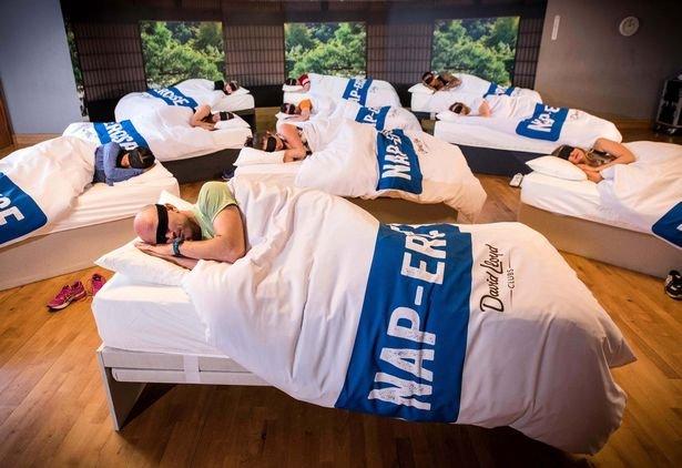 Британская сеть тренажерных залов ввела занятия для тех, кто просто желает поспать