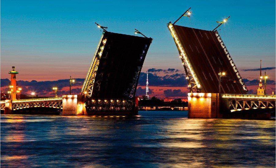 Вночь на2 и10мая мосты разводить небудут