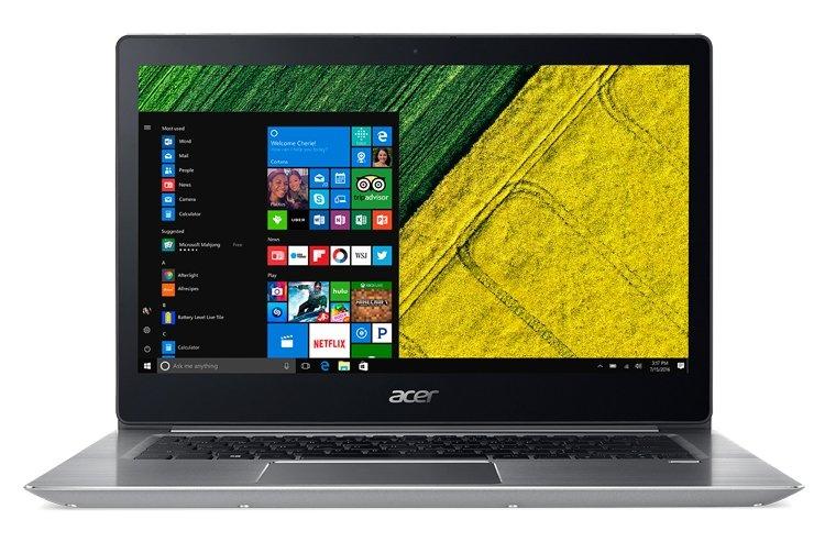 Acer представила ноутбуки Swift 1 иSwift 3 с экраном FullHD