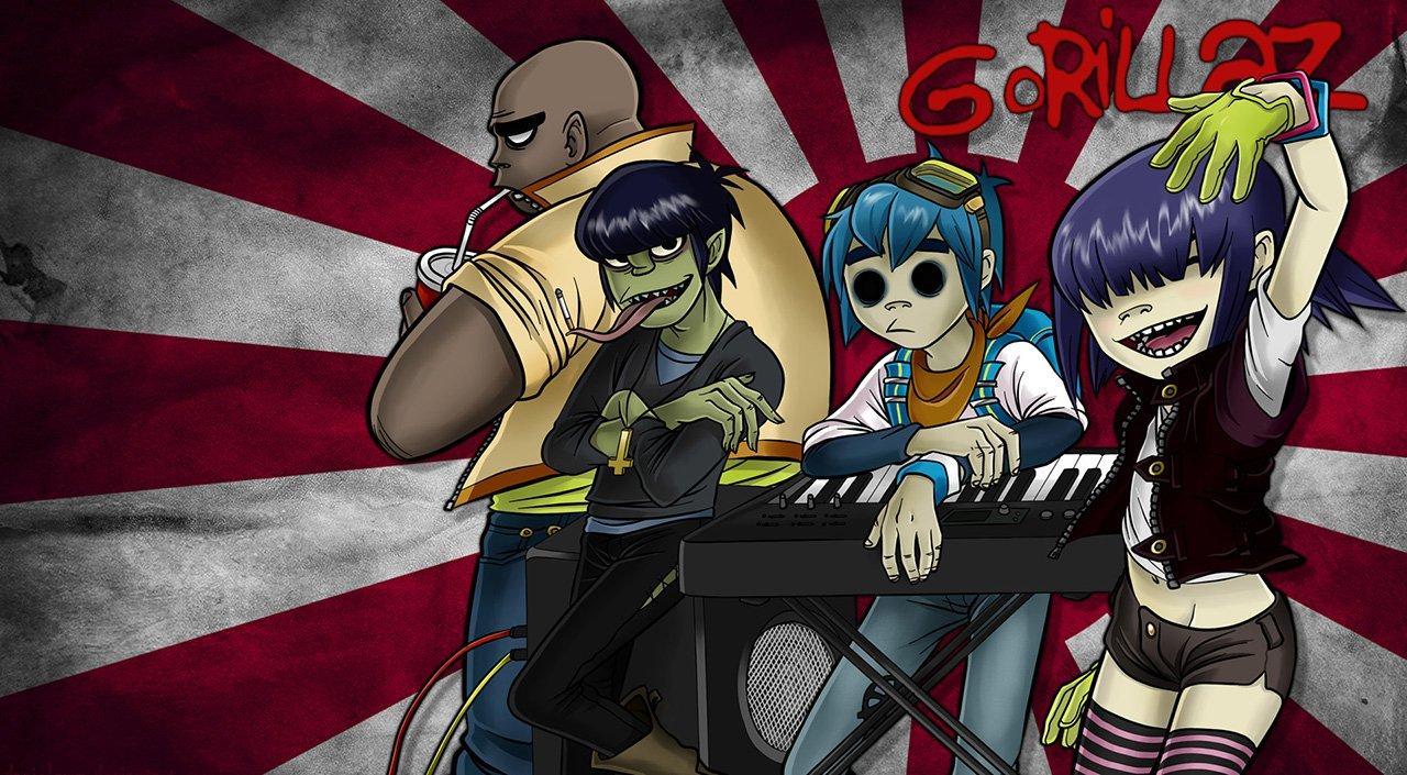 Группа «Gorillaz» выпустила 1-ый альбом запоследние семь лет