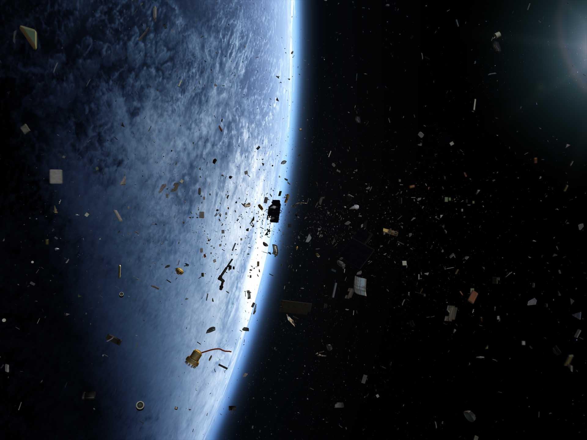 Ученые определили четкое количество космического мусора наоколоземной орбите