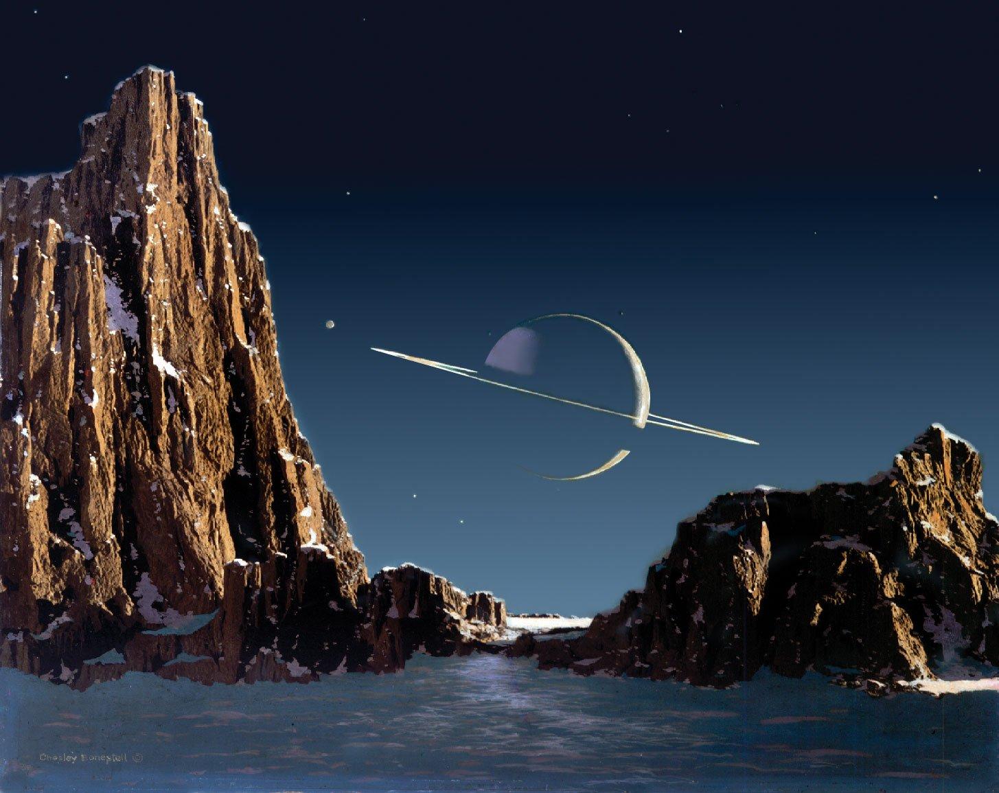 Ученые: дрон-стрекоза будет искать жизнь наТитане