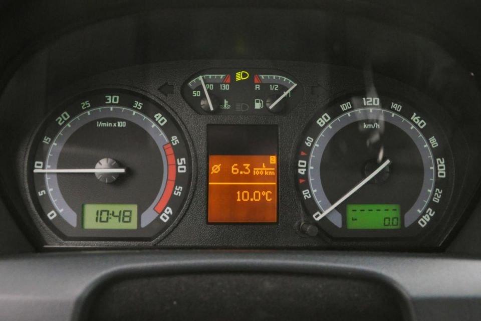 Шкода  показала модель Fabia спробегом 1 258 000 километров