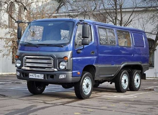Автомобильный завод УАЗ модернизировал «Буханку» УАЗ-452
