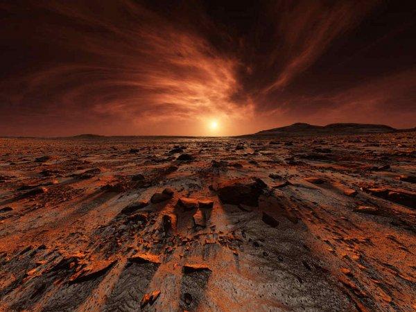 Ученые NASA: В недрах Марса развивается инопланетная жизнь