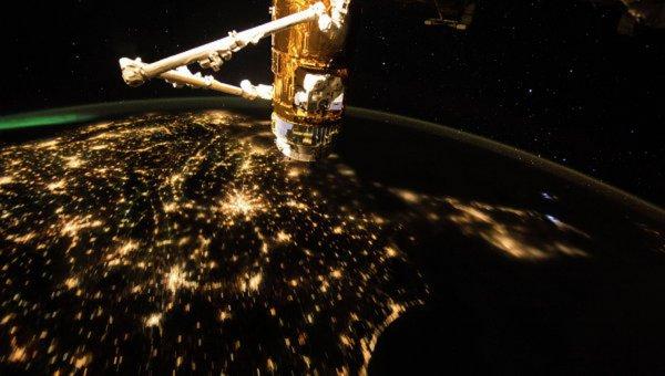 С Земли сделали снимок потерявшегося куска МКС