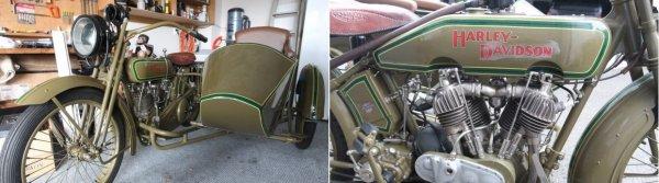 Раритетный Harley-Davidson восстанавливали 20 лет