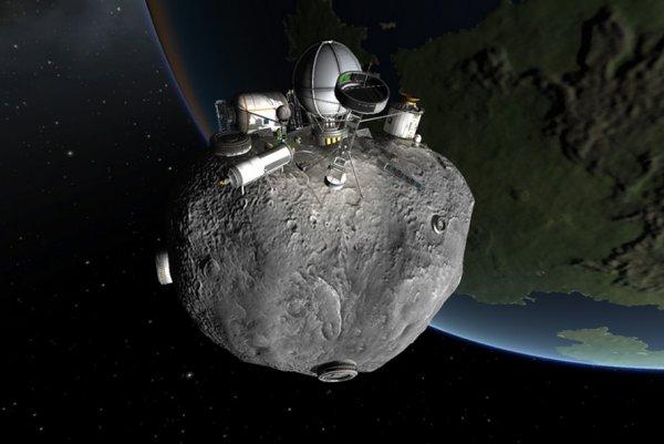 Эксперты: Скоро в космосе можно будет добывать драгоценности