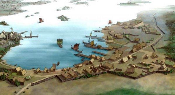В Норвегии найден торговый центр викингов