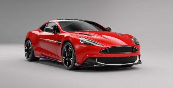Aston Martin выпустит спецверсию Vanquish S под названием Red Arrows Edition