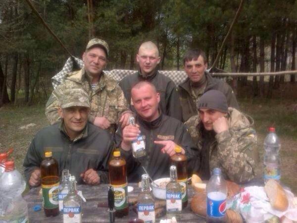 ВСУ: Военнослужащие Украины стали меньше пить алкоголя
