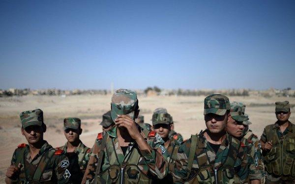 Войска САР отбили у террористов участок шоссе Пальмира - Дамаск