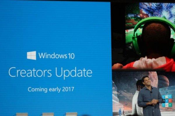 Microsoft начал внедрение обновления Creators Update для Windows 10