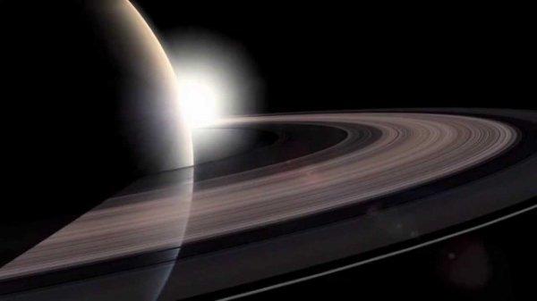 Зонд Cassini сделал прощальную фотографию Земли сквозь кольца Сатурна