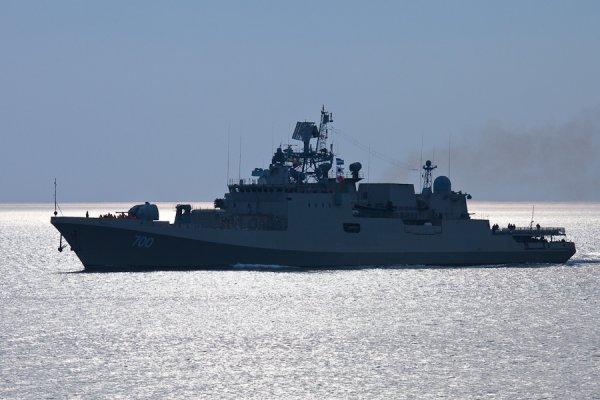 В Балтийском море МРК «Ливень» сразил цель залпом крылатых ракет