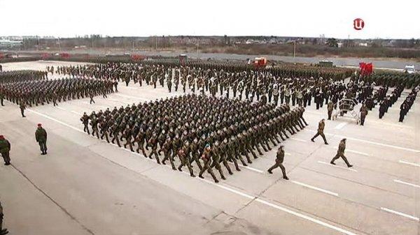Минобороны презентовало клип о подготовке к параду Победы