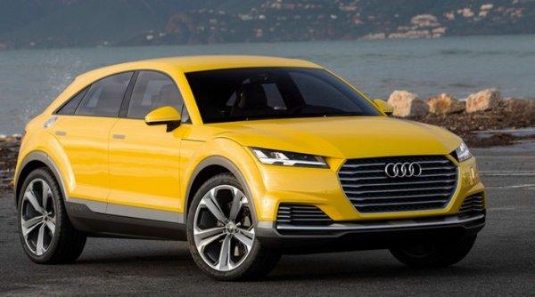 """""""Заряженны"""" кроссовер Audi Q4 RS дебютирует в 2019 году"""