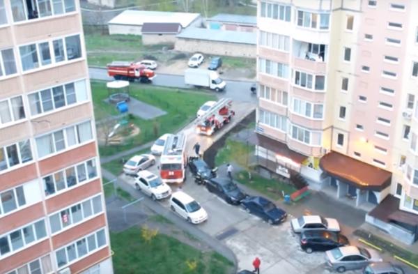 Пожарные не могли проехать на вызов из-за легковых авто в Ставрополе