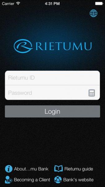 В App Store появилось обновление iRietumu для iPhone и iPad