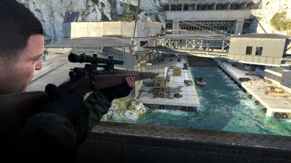 Разработчики выпустили обновления для Sniper Elite 4