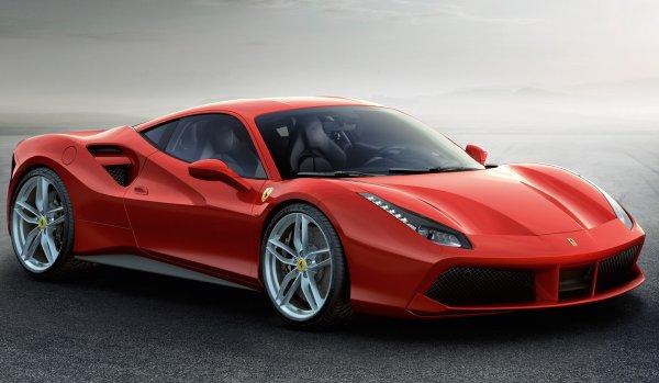 Новый Ferrari 488 GTB получит силовую установку в 700 лошадиных сил