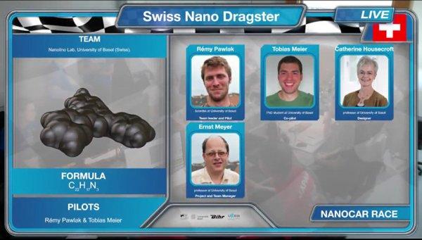 Стартовала первая в истории гонка нано-машин
